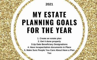 New Year's Resolutions for Estate Planning in 2021